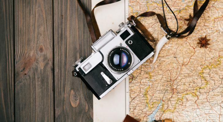 Камера в поездке